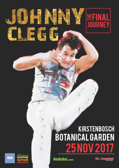 Johnny Clegg Homepage